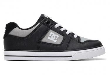 Chaussures Enfant DC Shoes Pure Elastic Noir / Gris