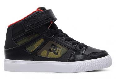 DC Shoes Pure Elastic Camo Kids Shoes