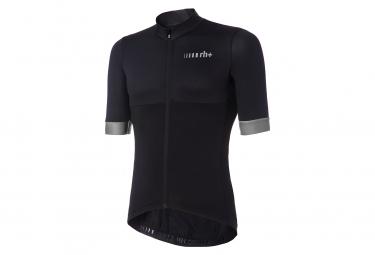 Zero rh+ Logo Short Sleeve Jersey Black Reflex