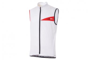 Zero rh+ Prime Evo Sleeveless Jersey White Red Reflex