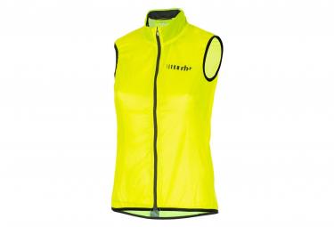 Zero rh+ Emergency Sleeveless Windbreaker Jacket Fluo Yellow Black Reflex