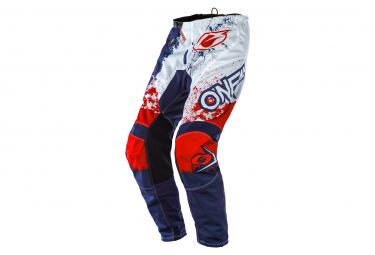 Pantalon O'Neal Element Pant Impact Bleu / Rouge