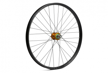 Hope Fortus 26W Pro 4 27.5 '' Rear Wheel | 9x135 - 12x142mm | Orange