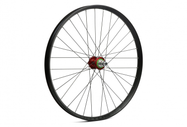 Hope Fortus 26W Pro 4 27.5 '' Rear Wheel | 9x135 - 12x142mm | Red