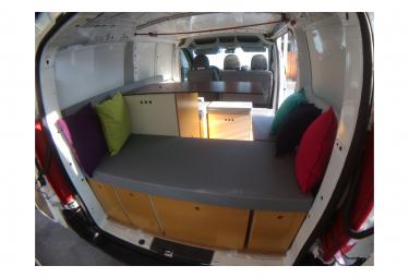 Kit van aménagé COMBI HOMELY pour fourgon et utilitaire