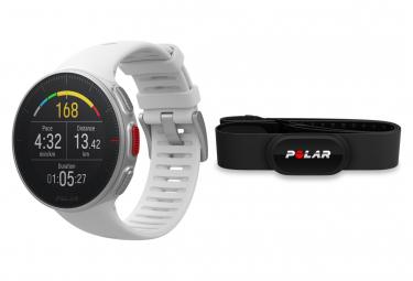 Reloj GPS Polar Vantage V Pack HR Blanco