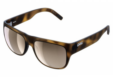 Poc Want Clarity Sunglasses Tortoise Brown / Brown Silver Mirror