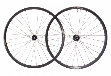 Asterion Sport Gravel Disc Wheelset | 12x100 - 12x142 mm | Black