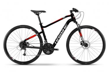 Haibike Seet Cross 2.0 Cross Bike 28 '' Shimano Tourney 7S Negro Rojo 2019