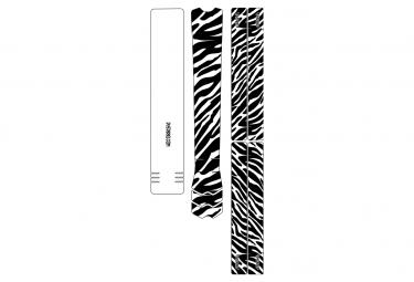 Dyedbro frame zebra frame pelicula protectora negro