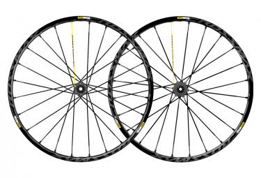 Pair of Mavic Crossmax Pro 27.5 '' Wheels | 15x100 - 12x142 mm | Black