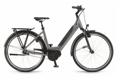 Bicicleta Ciudad Mujer Winora Sinus iN8f Monotube Gris