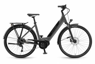Bicicleta Ciudad Mujer Winora Sinus i9 Monotube Gris