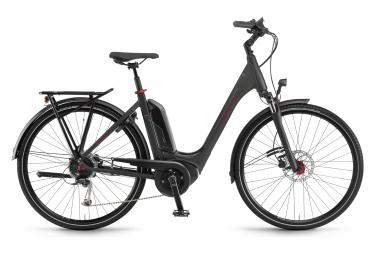 Bicicleta Ciudad Mujer Winora Sinus Tria 9 Monotube Noir