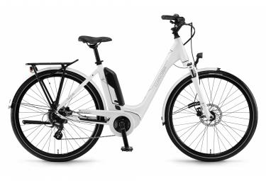 Bicicleta Ciudad Mujer Winora Sinus Tria 7eco Monotube Blanc
