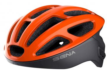 Casque Connecté Sena R1 Orange Noir