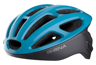 Connect Sena R1 Casco Azul Negro