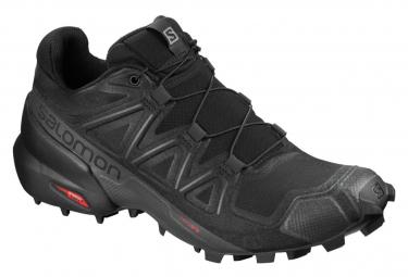 Zapatillas Salomon Speedcross 5 para Mujer Negro