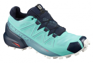 Salomon Speedcross 5 GTX Blue Women