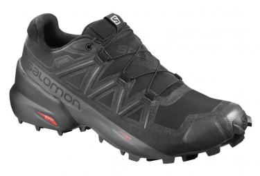 Chaussures de Trail Salomon Speedcross 5 GTX Noir