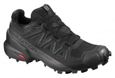 Chaussures de Trail Femme Salomon Speedcross 5 GTX Noir