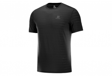 Salomon Short Sleeve Jersey XA Tee Black Men