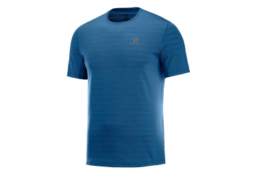 Salomon Short Sleeves Jersey XA Tee Blue Men