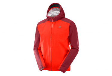 Salomon Jacket Bonatti WP Red Men