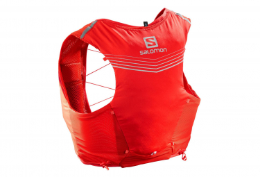 Salomon ADV Piel Mochila 5 Set Rojo Unisex