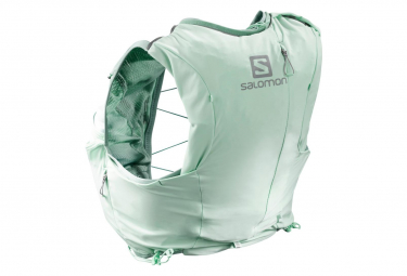 Salomon Backpack ADV Skin 8 Set Blue Green Women