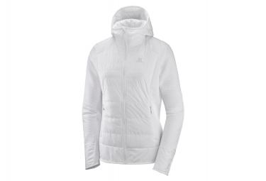 Salomon Jacket Hybrid Right Nice White Women
