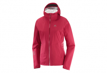 Salomon Jacket Lightning Wp Red Women