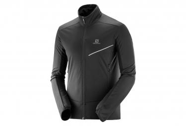 Salomon Rs Softshell Jacket Black Men