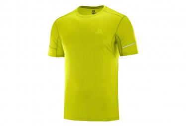 Salomon Agile Short Sleeves Jersey YellowMen