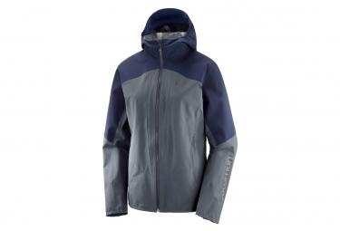 Salomon Outline Jacket Grigio Blu Donna