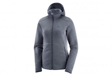 Salomon Jacket Pullover Bise Grey Women