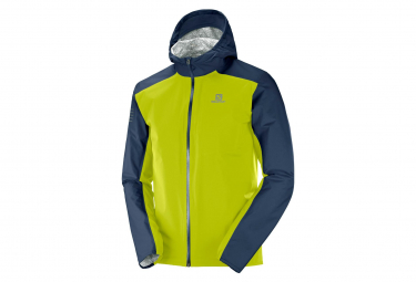 Salomon Jacket Bonatti WP Blue Jaune Men