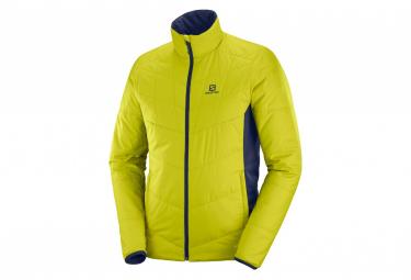 Salomon Jacket Drifter Mid Jaune Blue Men S
