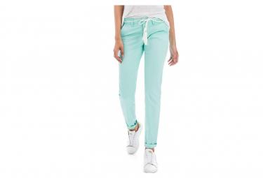 Colette Femme Pantalon Chino Skinny Vert Salsa