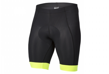 Spiuk Anatomic Bibless Shorts Black Neon Yellow