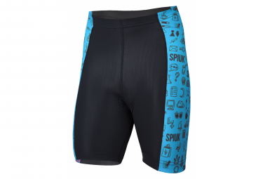Spiuk Anatomic Kids Bibless Shorts Black Blue