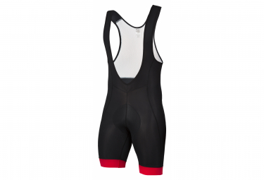 Spiuk Anatomic Bib Shorts Black Red