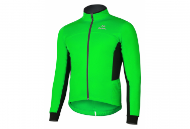 Spiuk Anatomic Thermal Jacket Neon Green