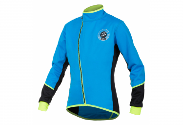 Spiuk Anatomic Kid Thermal Jacket Blue Neon Yellow