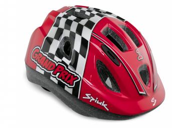 Casco Nino Spiuk Rojo Grand Prix M L  52 56 Cm