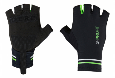 Spiuk Profit Aero Short Gloves Black