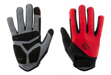 Spiuk XP Long Gloves Red Black