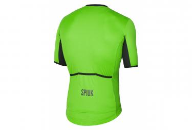 spiuk  Maillot manches courtes spiuk anatomic vert fluo l voici l un des... par LeGuide.com Publicité