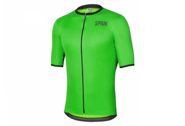 Spiuk Anatomic Short Sleeve Jersey Neon Green