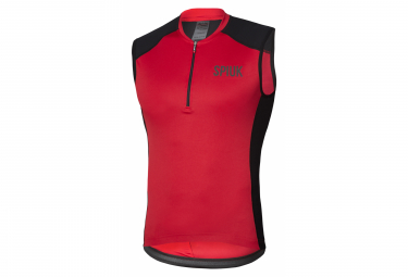 Spiuk Indoor Sleeveless Jersey Red